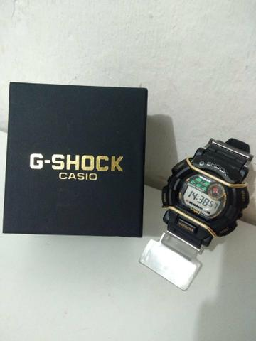 0354e33f116 Casio g-shock na caixa Prova d água