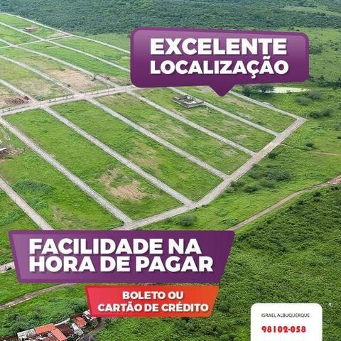 Lote Pronto pra construir - Financiamento com parcela de 399 - Venha escolher seu terreno - Foto 8