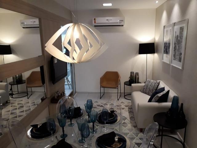 Apartamento com 2 quartas, varanda, elevador no centro de Paulista - Foto 9