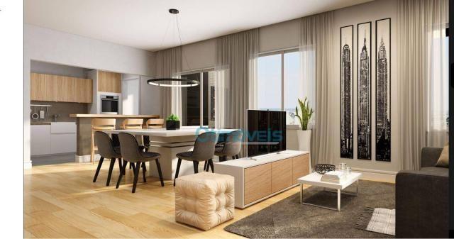 Apartamento com 3 dormitórios à venda, 108 m² por r$ 741.712 - ecoville - curitiba/pr - Foto 3