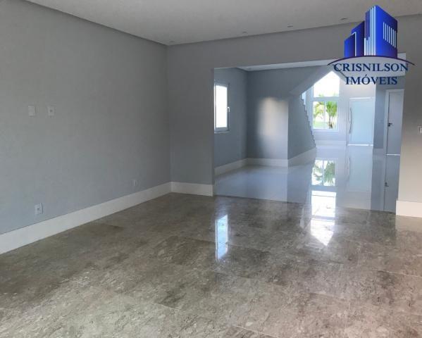 Casa à venda alphaville salvador ii, nova, r$ 2.190.000,00, piscina, espaço gourmet, área  - Foto 12