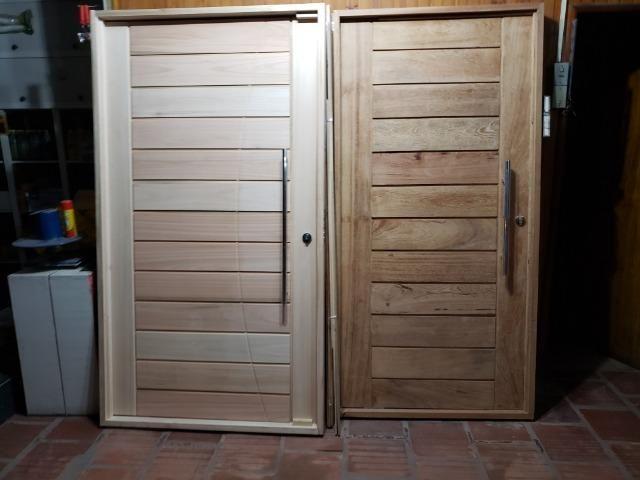 Aberturas Canelense - Portas Madeira de Vários Modelos - Foto 2