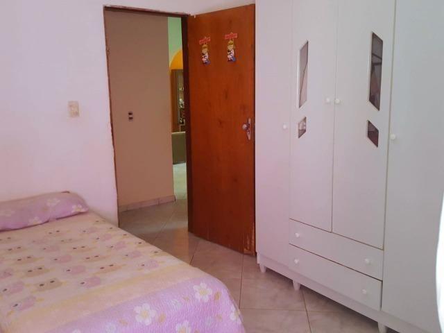 Ótima casa, toda na laje, 03 quartos! Lote de 500m² na Colônia Agrícola Samambaia - Foto 9