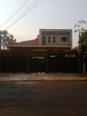 Sobrado para alugar 3 dormitórios com salão anexo no Cândido Portinari