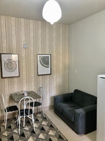 Flat Kitnet apartamento de 1 quarto mobiliado - Foto 3