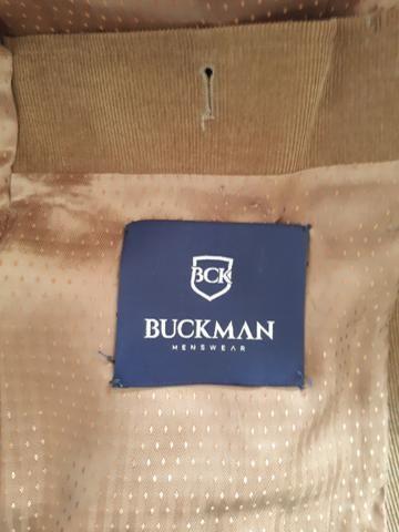 Blazer masculino Buckman de veludo - marrom tam. 56. - lindo - Foto 3