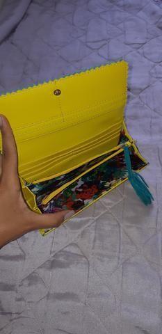 Carteira de mão feminina - Foto 4