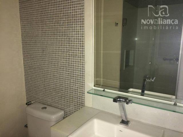 Apartamento com 3 quartos para alugar, 85 m² por R$ 1.500/mês - Itapuã - Vila Velha/ES - Foto 14