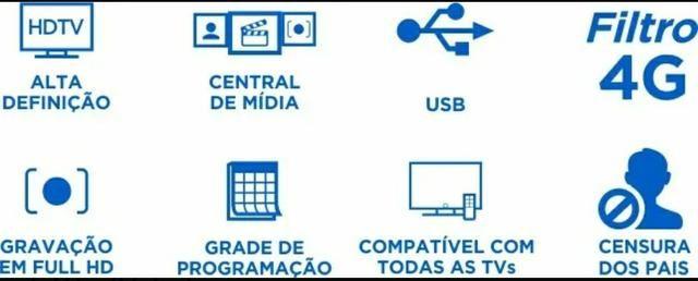 Conversor Digital e Gravador Full Hd Aquário Dtv 4000 - Foto 3