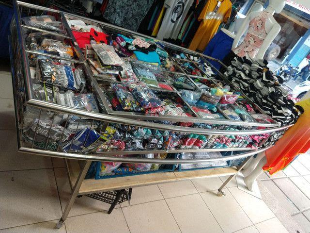 Expositor cromado para loja - Foto 3