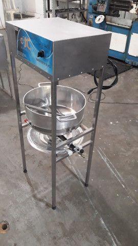 Masseira a gas para massa de salgado - Foto 4