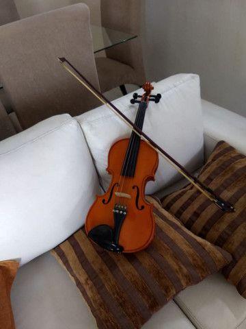 Violino Eagle vk544 tá super concervado - Foto 3