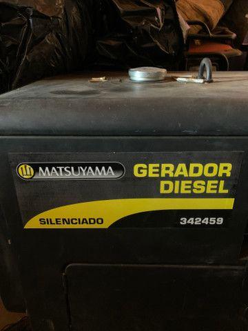 Gerador a Diesel Matsyuama 6KVA