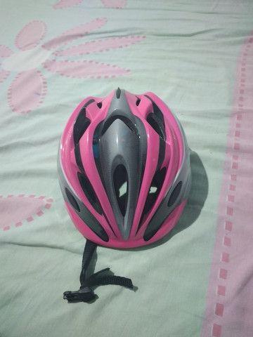 Vendo um capacete dê ciclista