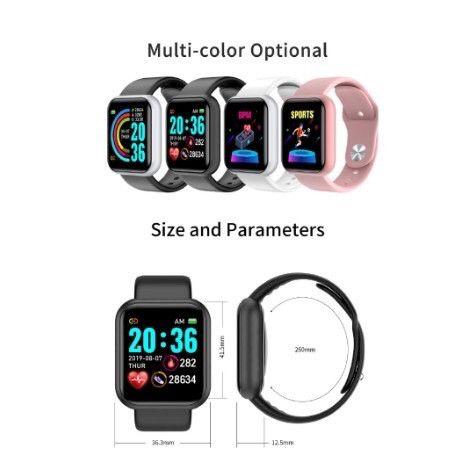 Smart Watch com Bluetooth Y68 - Foto 3