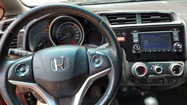 Honda FIT Ex - Único dono pela FIPE 2015 - Todo revisado em concessionaria - Foto 10