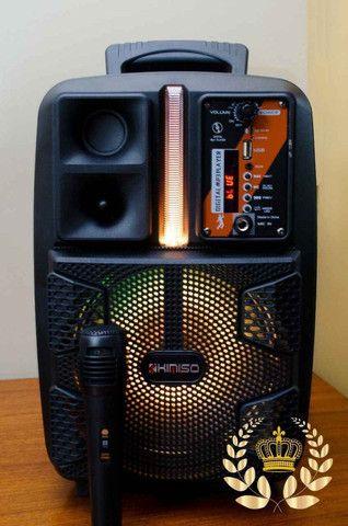 Caixa de som Amplificado (Kimiso Qs-2805) 2000W - A Mais Procurada Na Loja! - Foto 4