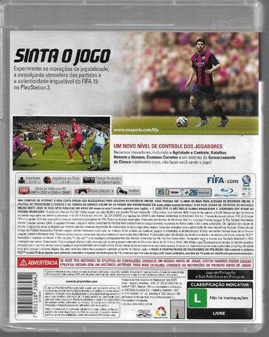 olx191 Jogo Fifa 15 Ps3 Usado Mídia Fìsica bluray - Foto 2