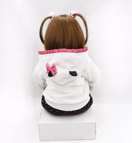 Bebê Reborn Panda 100% silicone  - Foto 5