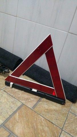 Kit Triângulo e macaco automotivo sanfona