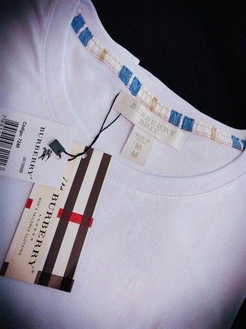 camisetas burberry atacado minimo 10 pcs envios imediatos  - Foto 5