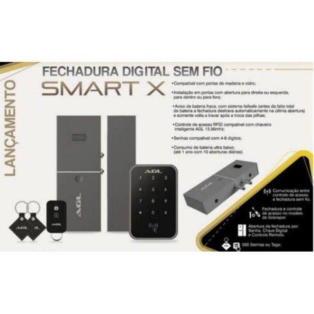 Fechadura Digital Agl N20 Biométrica - Foto 5
