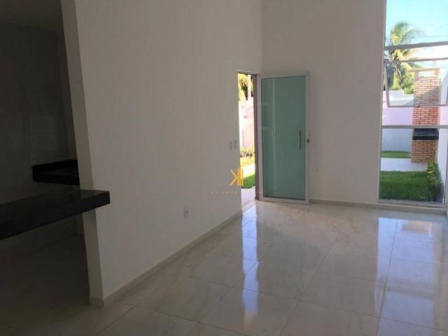 Casa Plana com 2 dormitórios sendo 1 suíte à venda, 63 m² por R$ 185.000 - Mangabeira - Eu - Foto 2