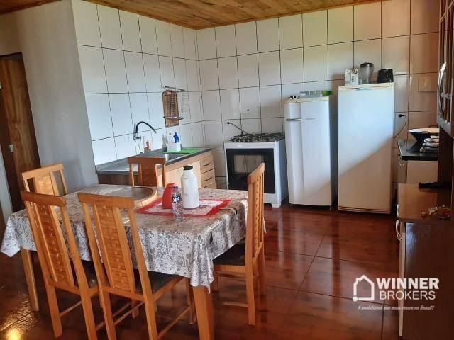 Direitos de casa com 3 dormitórios à venda, 120 m² por R$ 160.000 - Ivailandia - Engenheir - Foto 2
