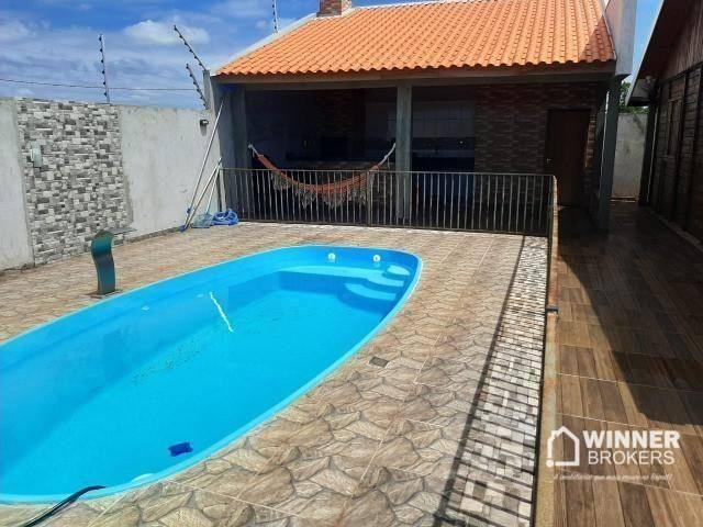 Direitos de casa com 3 dormitórios à venda, 120 m² por R$ 160.000 - Ivailandia - Engenheir - Foto 7