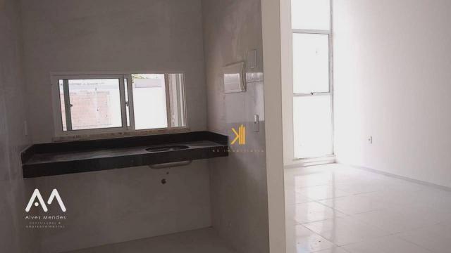 Casa Plana com 3 dormitórios sendo 2 suítes à venda, 90 m² por R$ 229.000 - Encantada - Eu - Foto 7