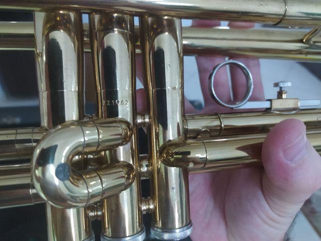 Trompete weril semi novo top - Foto 5