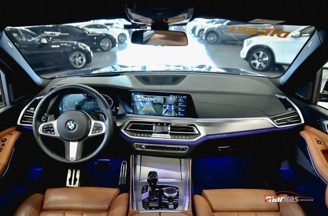 BMW X5 M XDRIVE30D MSPORT 265HP 30 MIL KM UNICO DONO 4P - Foto 8