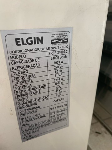 Ar condicionado ELGIN 30000 BTU/h  - Foto 4