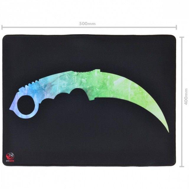 mouse pad fps knife - estilo speed - 500x400mm - fk50x40 - Foto 5