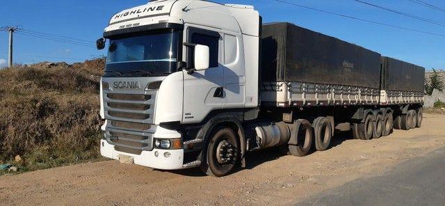 Scania R480 6X4, 2013+ Rodotrem Randon 3x3 - Foto 3