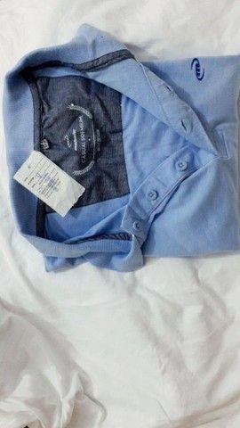 Camisa original da Mahalo azul celeste. NOVA - Foto 2