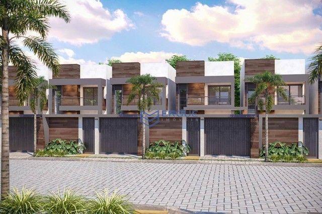 Casa à venda, 100 m² por R$ 289.900,00 - Eusébio - Eusébio/CE - Foto 2