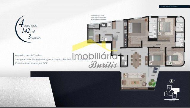 Apartamento à venda, 4 quartos, 1 suíte, 3 vagas, VALE DO SERENO - NOVA LIMA/MG - Foto 20