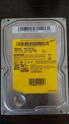 Case para HD 3.5 + 2 HDs Samsung 160gb - Foto 5