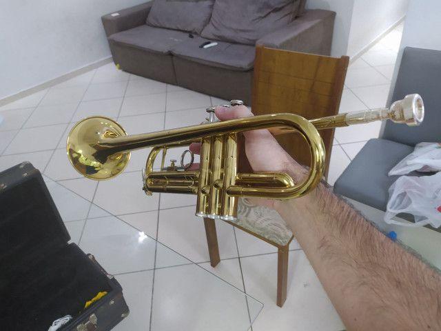 Trompete weril semi novo top - Foto 3