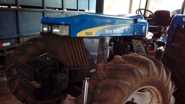 Trator NH 7630 S100 - Foto 3
