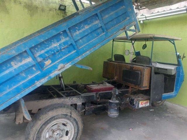 "Caminhão tuk tuk ""BURRINHA"" GURGEL - Foto 6"