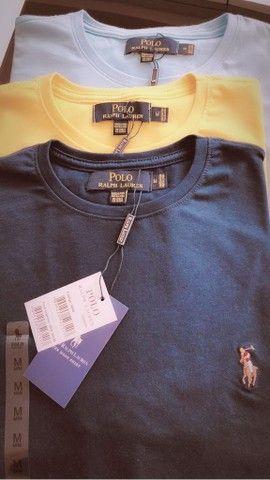 camisetas ralph lauren atacado minimo 10 pcs basicas  - Foto 5