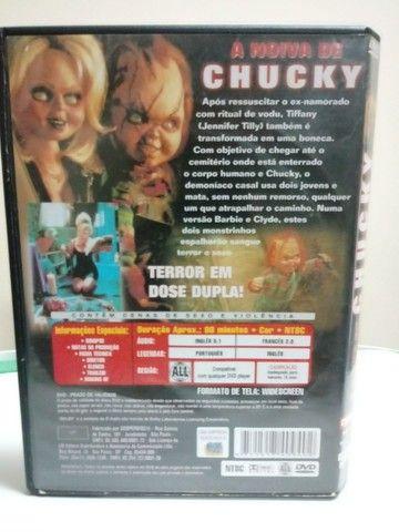 DVD  Noiva do Chucky - Faço Envio. - Foto 4