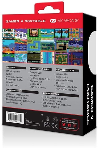 Console DreamGear My Arcade 2573 - com 220 Jogos  - Foto 3