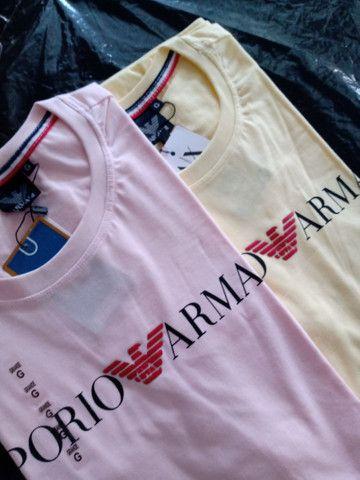 Camisa malha fio 30 Premium - Foto 2