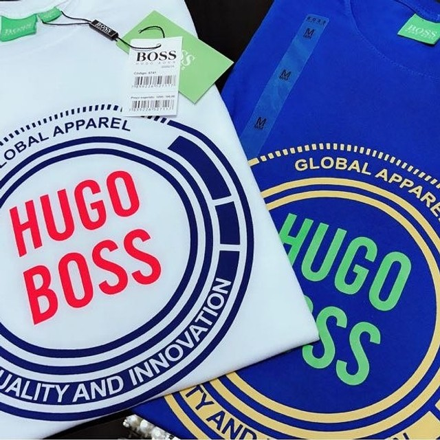 camisetas importadas atacado minimo 10 pcs hugo boss  - Foto 5