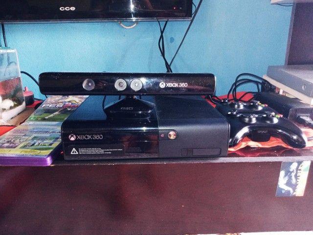 Xbox semi novo único dono - Foto 2