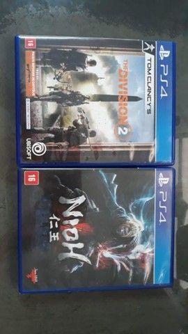 V/T Nioh 1 e The Division 2 PS4/PS5