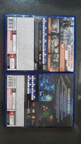 V/T Nioh 1 e The Division 2 PS4/PS5 - Foto 2